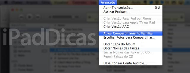 Avançado no iTunes